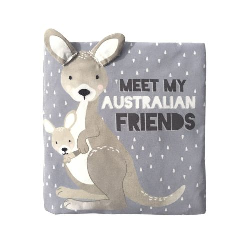 Meet My Friends Australian Animals Soft Baby Book