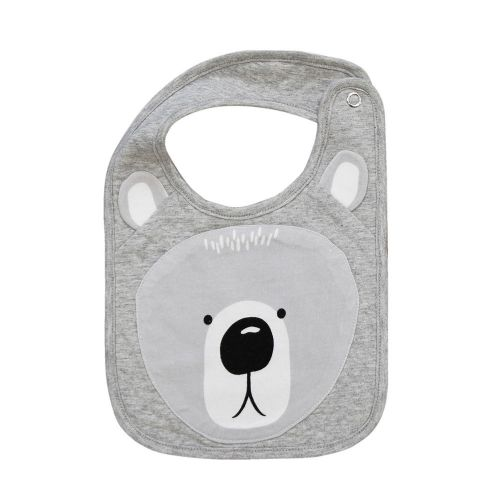 Mister Fly Bear Face Bib