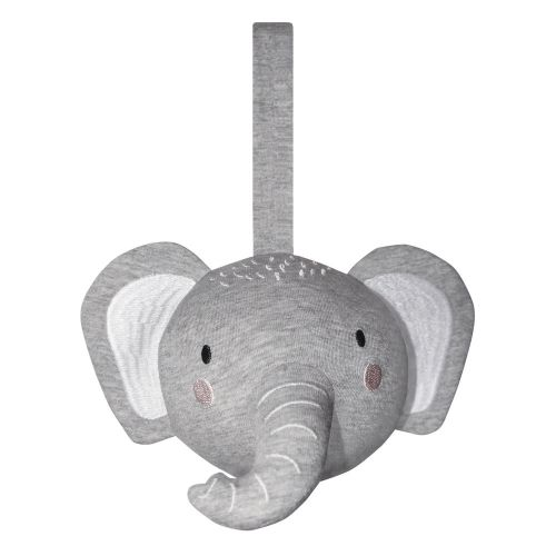 Mister Fly -  Elephant Pram/Cot Rattle Ball - Grey