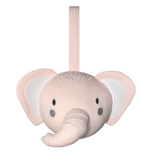 Mister Fly -  Elephant Pram/Cot Rattle Ball - Pink