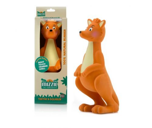 Not Perfect-Damaged Box - Mizzie The Kangaroo - Teething Toy Sold as is.