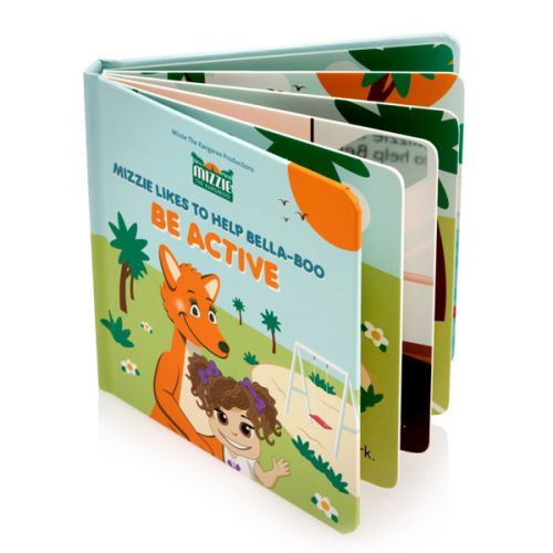 Be Active - Mizzie Kangaroo Book – Interactive Baby Board Book