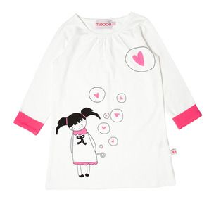 Mooce Bubble Dress (Sizes 3-6)