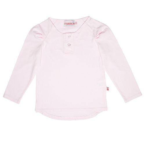 Mooce Long Sleeve Tee Light Pink (Last one left Size 4-5)