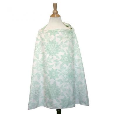 Morning Bloom Peanut Shell Nursing Cover