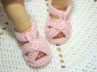 Crochet Sandals - Prewalkers/Baby Shoes - Boys and Girls Colours