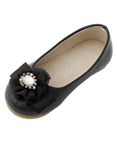 MTK - Mini Treasure kids Indiana - Black Ballet Flats Size 33 (No Box Lid)