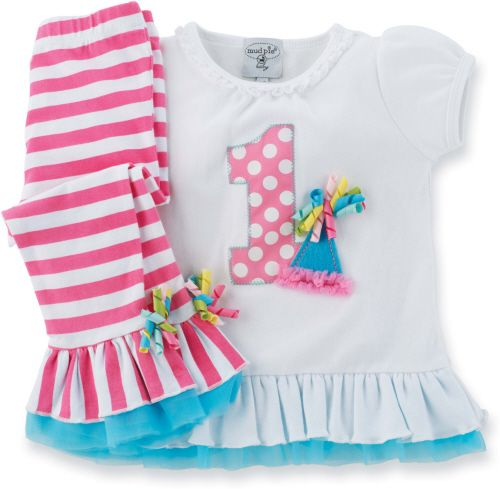 Birthdays - first birthday outfits and gifts and upwards