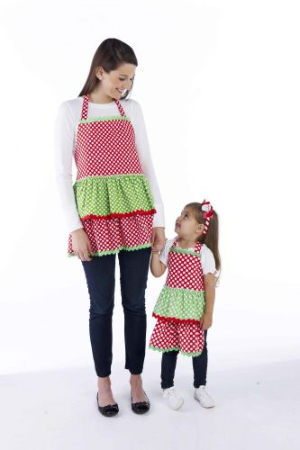 Christmas Apron - Adult (Matching child apron also available)