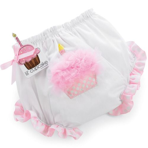 Mud Pie Birthday Cupcake Bloomers/Nappy Cover