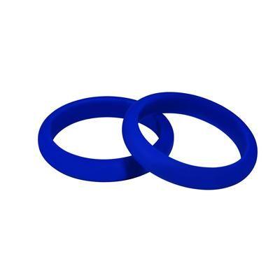 MummaBubba Jewellery - Teething Kaleidoscope  Bangle Set -Brilliant Blue