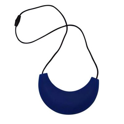 MummaBubba Jewellery - Cleopatra Chewable Teething Necklace - Brilliant Blue