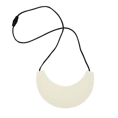MummaBubba Jewellery - Cleopatra Chewable Teething Necklace - White