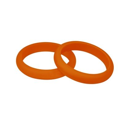 MummaBubba Jewellery - Teething Kaleidoscope Bangle Set -Orange