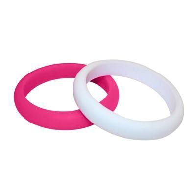 MummaBubba Jewellery - Teething Kaleidoscope Bangle Set -Pink Hope