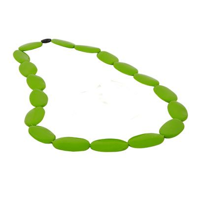MummaBubba Jewellery - Teething Necklace - Alice - Forest Green