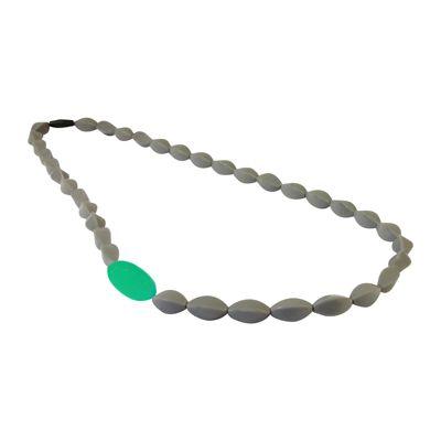 MummaBubba Jewellery - Teething Boston Beads -Mint