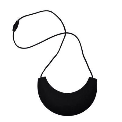 MummaBubba Jewellery - Cleopatra Chewable  Necklace - Black