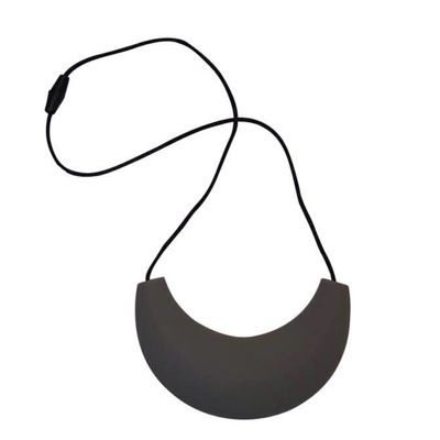MummaBubba Jewellery - Cleopatra Chewable Necklace - Grey