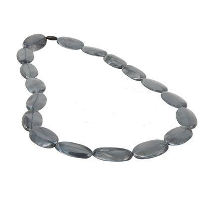 MummaBubba Jewellery - Teething Necklace - Alice - Silver  Swirl