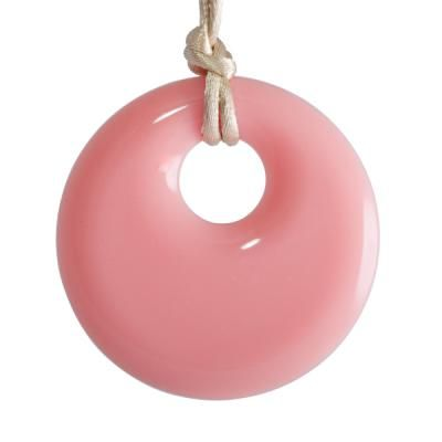 MummaBubba Jewellery - Teething Pendant - Peachy Pink