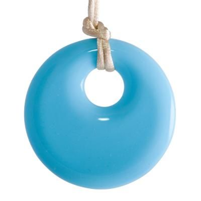 MummaBubba Jewellery - Teething Pendant - Sky Blue