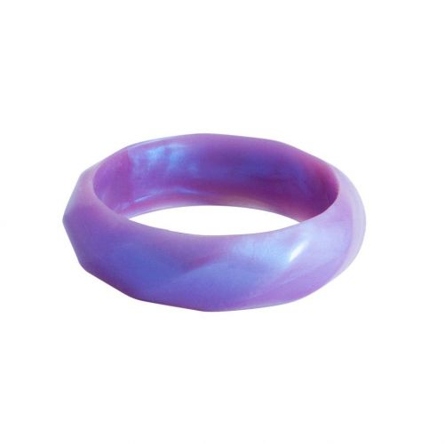 MummaBubba Jewellery - Teething Bangle -Purple Swirl
