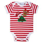 My First Xmas Baby Bodysuit