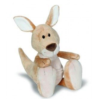 Hoppy Beige Kangaroo Plush