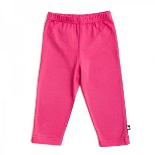 Nosh Organics Fushia Pink Capri Leggings (Last one left size 5-6)