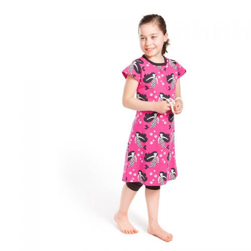 Nosh Organics - Mermaid Dress Pink (last size: 3-4 years)
