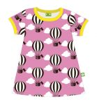 Nosh Organics - Balloon Pink Short Sleeve Dress