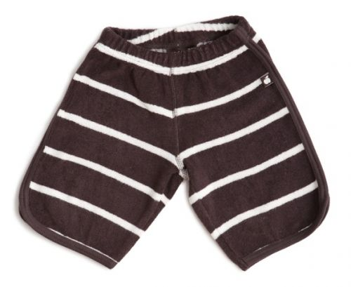 Nosh Organics - Terry Surf Shorts - Dark Clay (Size 9 mths-6 years)