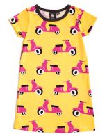 Nosh Organics - Scooter Yellow/Pink Dress/Tunic (Sizes 5 to 8)