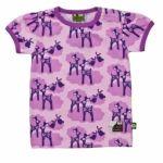 Nosh Organics - Paapii Bambii /Deer Short Sleeve T-Shirt - 100% organic cotton