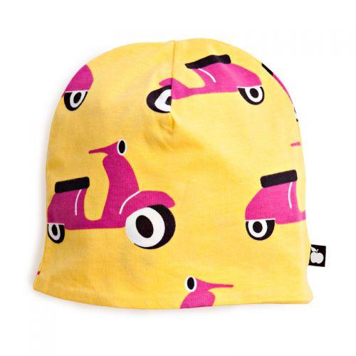 Nosh Organics - Scooter Yellow/Pink Beanie/Hat