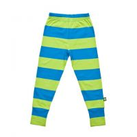 Nosh Organic - Leggings Blue and Green