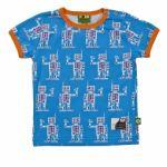 Nosh Organics - Paapii Robot Short Sleeve T-Shirt - 100% organic cotton (9 months to 4 years)