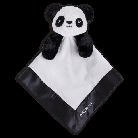 Retired - OB Designs Percie Panda Blankie - Baby Comforter