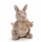 Oh So Soft Kangaroo and Rattle Set