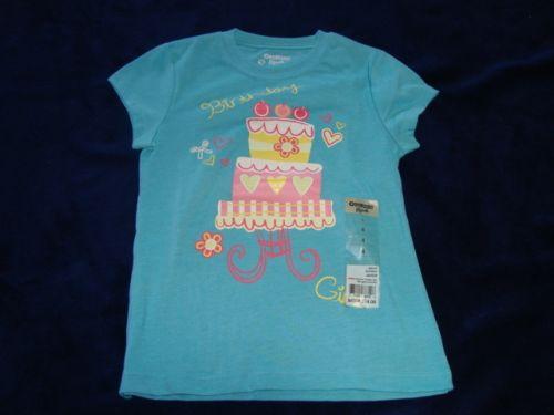 OshKosh BGosh Birthday Girl T Shirt Last One Left Size 4