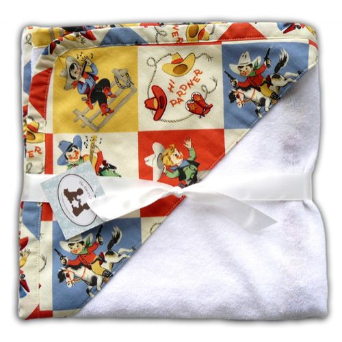 Pat a Cake Baby Giddy Up Hooded Towel