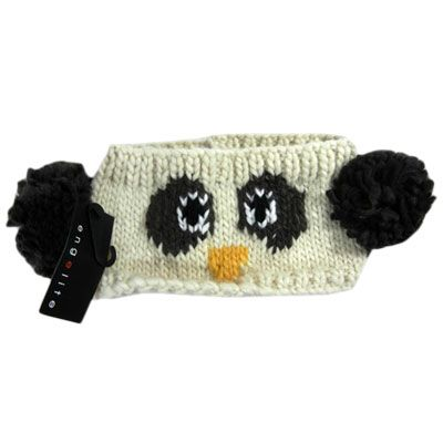 Penguin Knit Hair Band