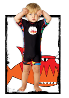Wave Rat Piranha Zootsuit/Rashie 50+ (Size 0 & 4 yrs last pairs left)