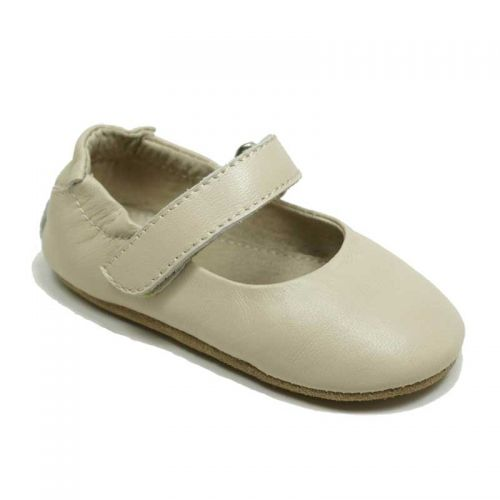 SKEANIE - Lady Jane - Soft sole - Cream (only Medium left)
