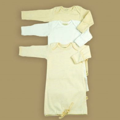 Pureborn Organic Cotton Baby Sleep Sack - Natural (Only Newborn left)