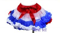 Aussie Flag Coloured Pettiskirt/Tutu (Sizes: 0-2 years)