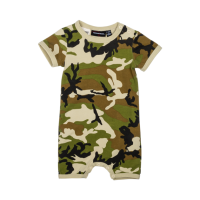 Baby Army Fatigue Playsuit