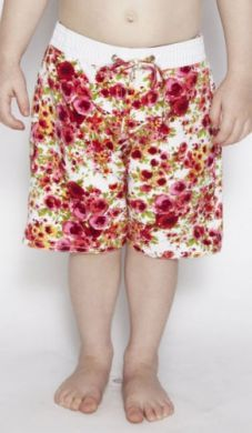 Cupid Girl Romance Boardshort  (Size 2 & 4)