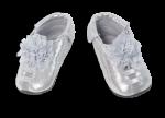 Shupeas - Silver Lace Flower Glitter